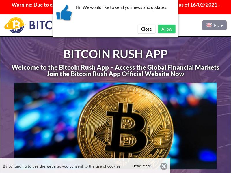Bitcoin Rush App German 2865