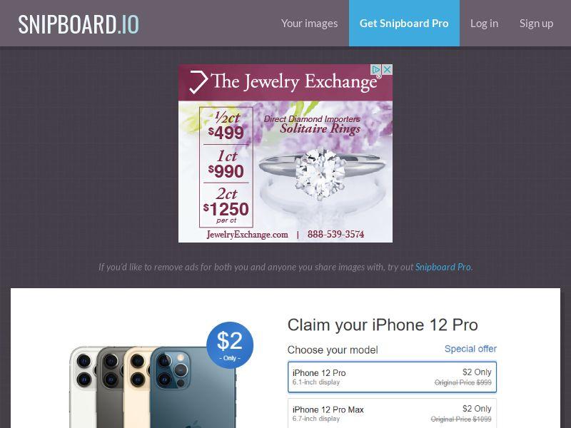 41182 - US - UK - iPhone 12 Pro - (UK - US) - CC submit