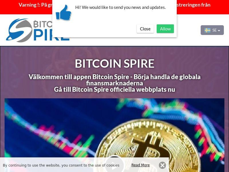 The Bitcoin Spire Swedish 2692