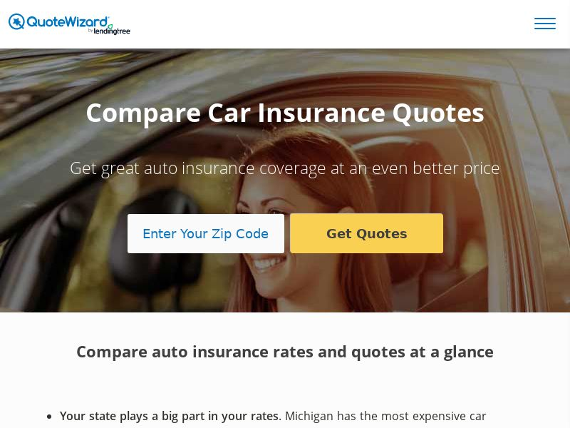 QuoteWizard by LendingTree - Auto Insurance (CPA)