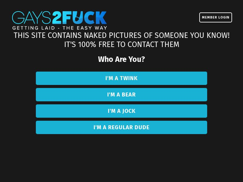GAYS2FUCK - PPS - Responsive