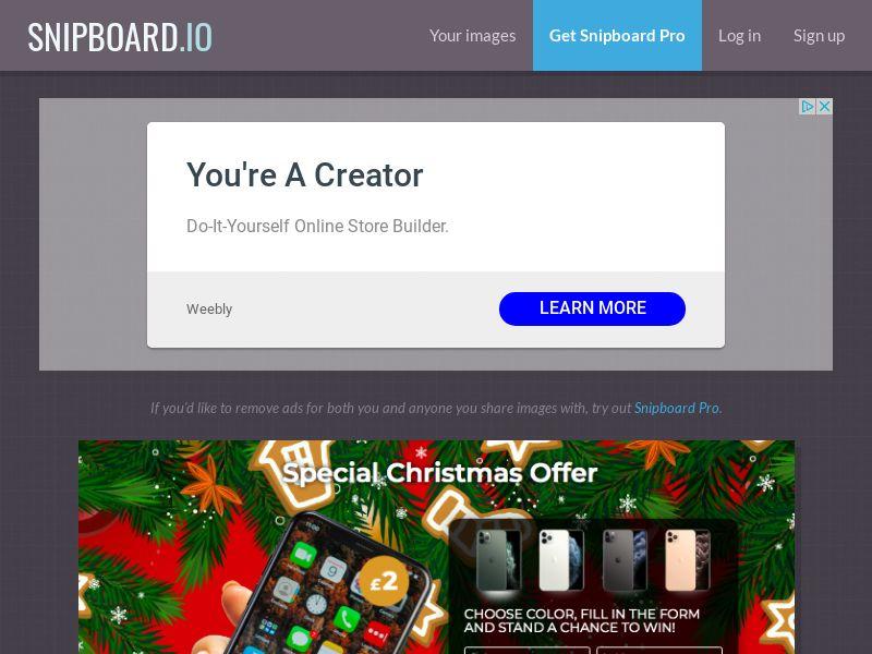 BigEntry - Christmas iPhone 11 Pro v1 NZ - CC Submit