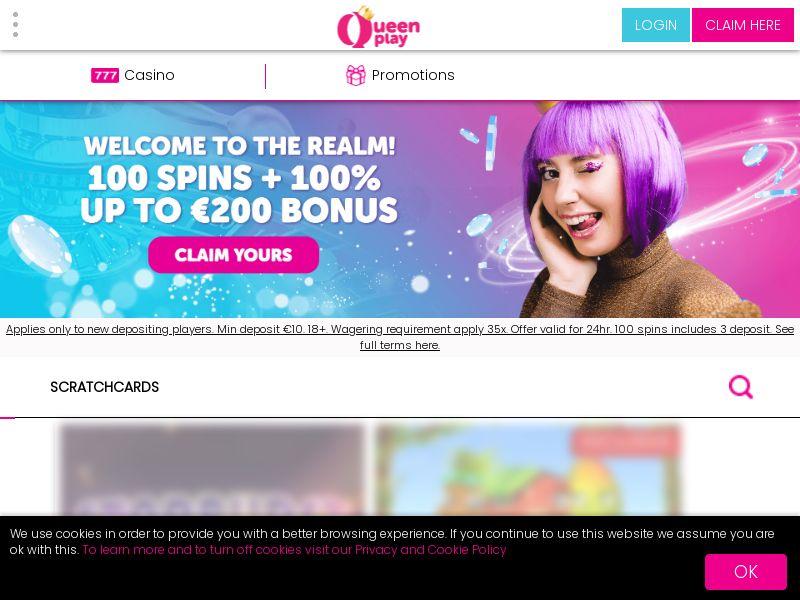 Queenplay Casino CPL [NL, NZ, NO, FI]