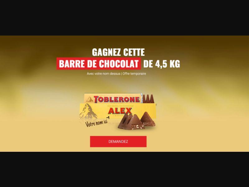 Toblerone - CPL SOI - FR - Sweepstakes - Responsive