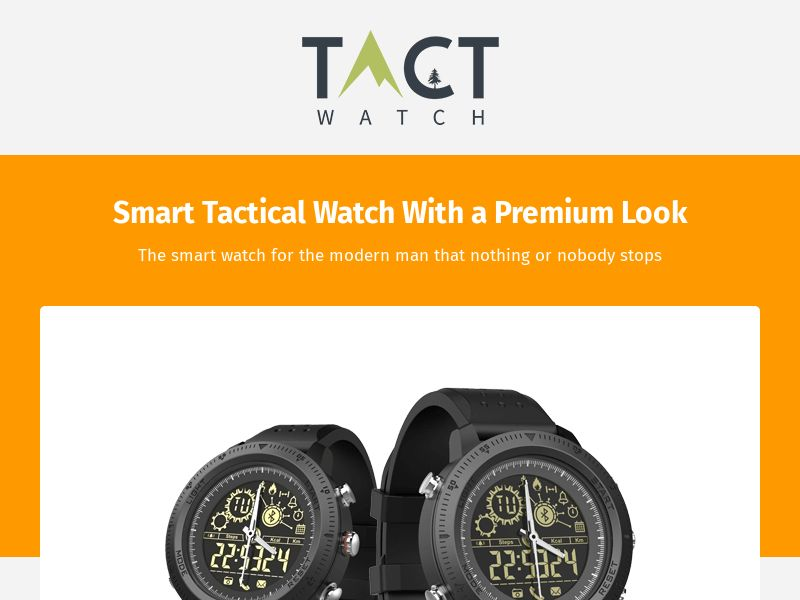 Ecommerce - T-Watch [INTL] (Banner,Social,Native,PPC,Push) - CPA