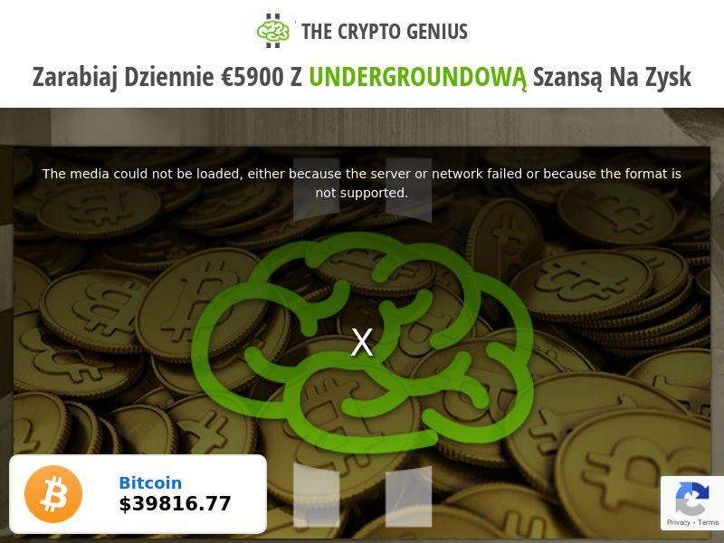 Crypto Genius - Smartlink (DE,IT,NL,NO,PL,PT,ES,SE,GB), [CPA]