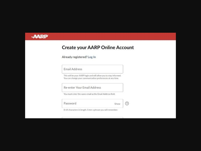 AARP Rewards - Sweeps Registration 2021 - SOI (US)