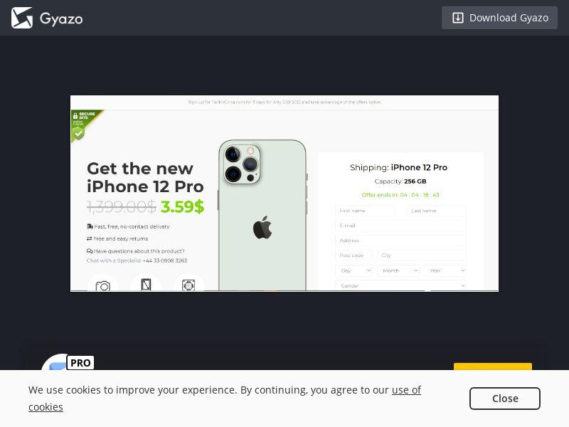 iPhone 12 pro SG   CC Sub