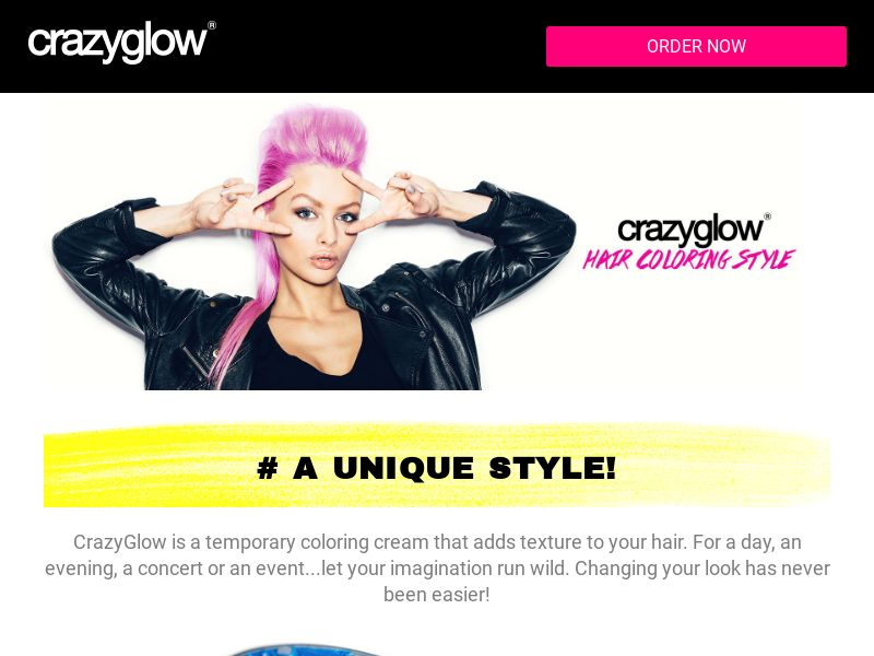 CrazyGlow - In house - CC submit - Beauty - Responsive