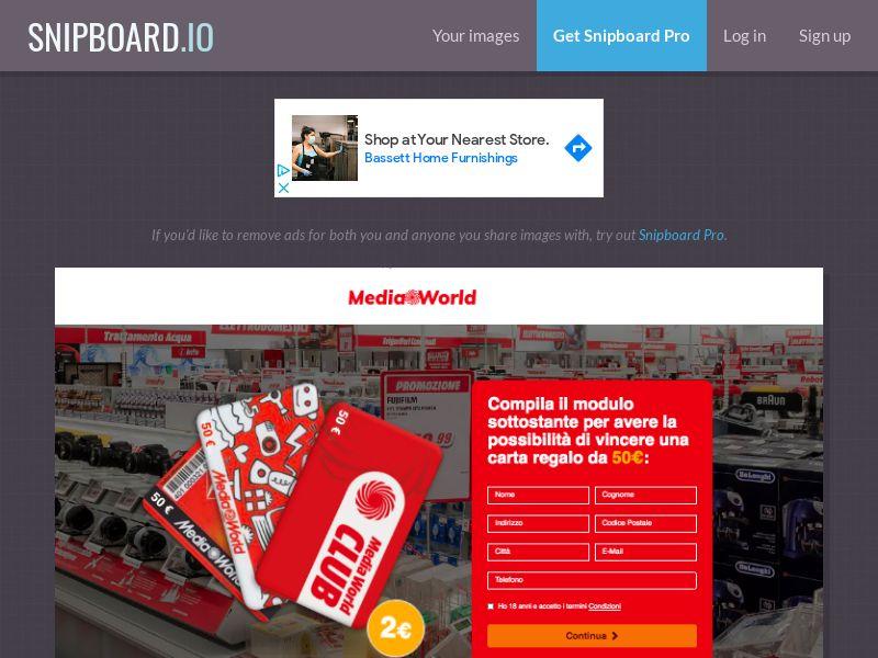 BigEntry - MediaWorld v1 IT - CC Submit