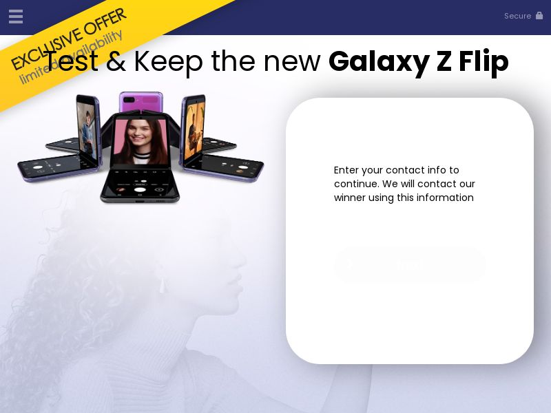 Test & Keep the new Galaxy Z Flip - US