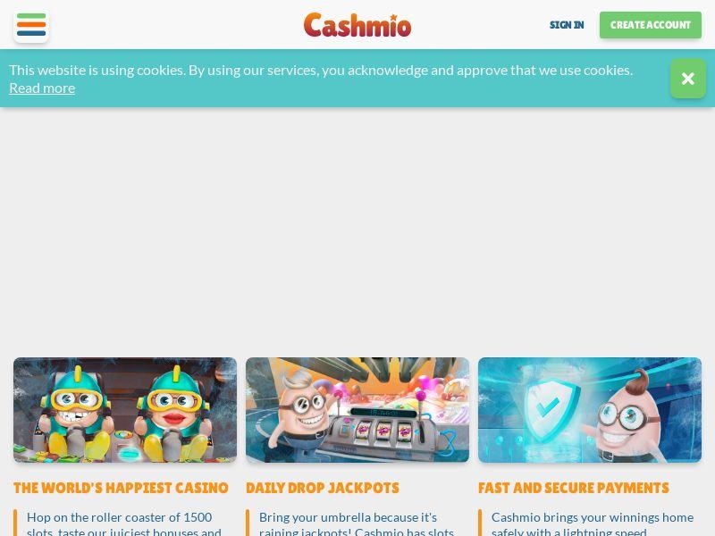 Cashmio.com RevShare - International
