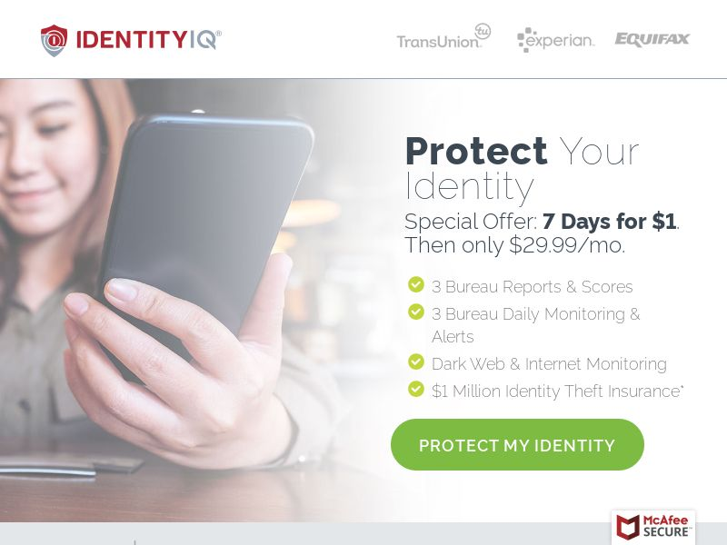 Trial - Identity Essentials [US] (Banner,Native,Social,Search,Push,SMS) - CPA {No Incent}