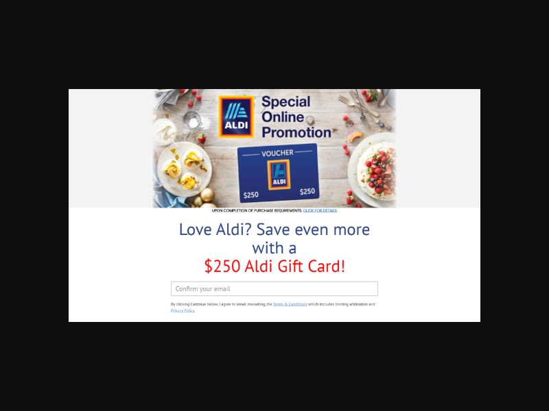 GSC Aldi - Grocery GiftCard (US)
