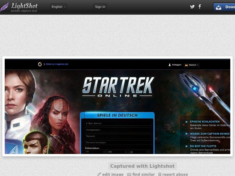 Star Trek Online (DE) (CPL) (Personnal Approval)