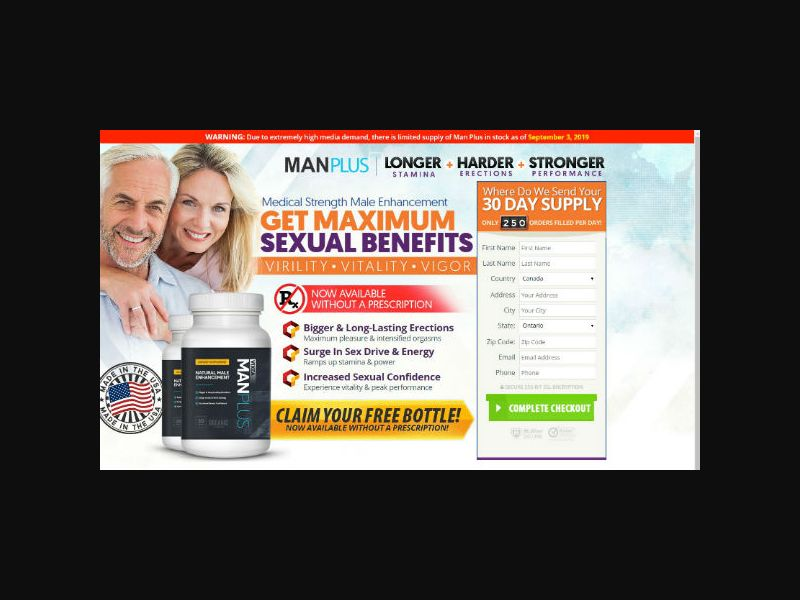 ManPlus Vixea - Natural Male Enhancement (INTL)