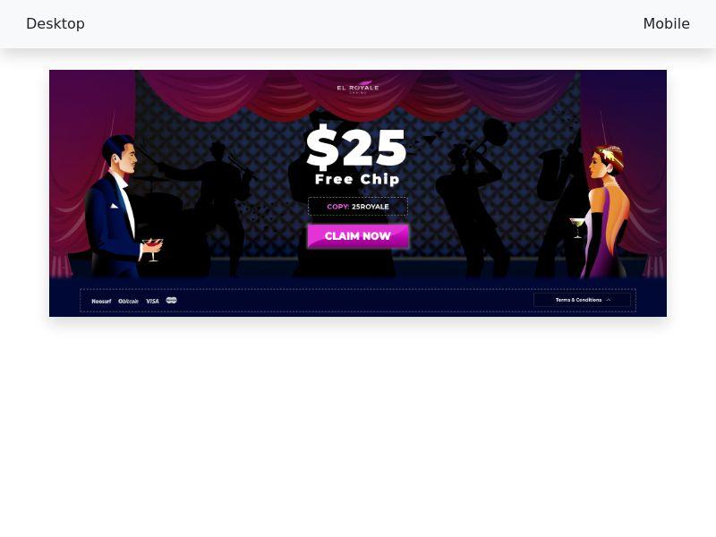 El royal casino - CPA - [US, CA, AU, NZ]