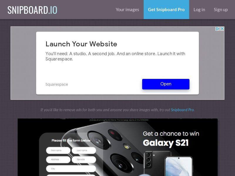 BigEntry - Samsung Galaxy S21 v1 AU - CC Submit