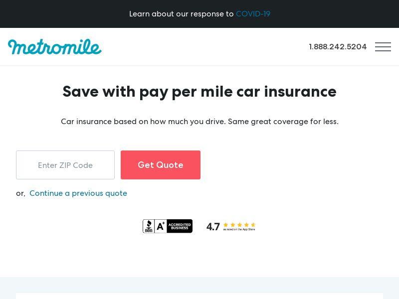 Metromile Insurance_US