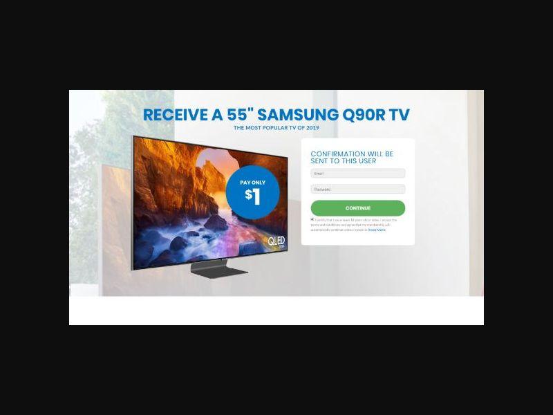 Win a Samsung 55-inch TV - INTL