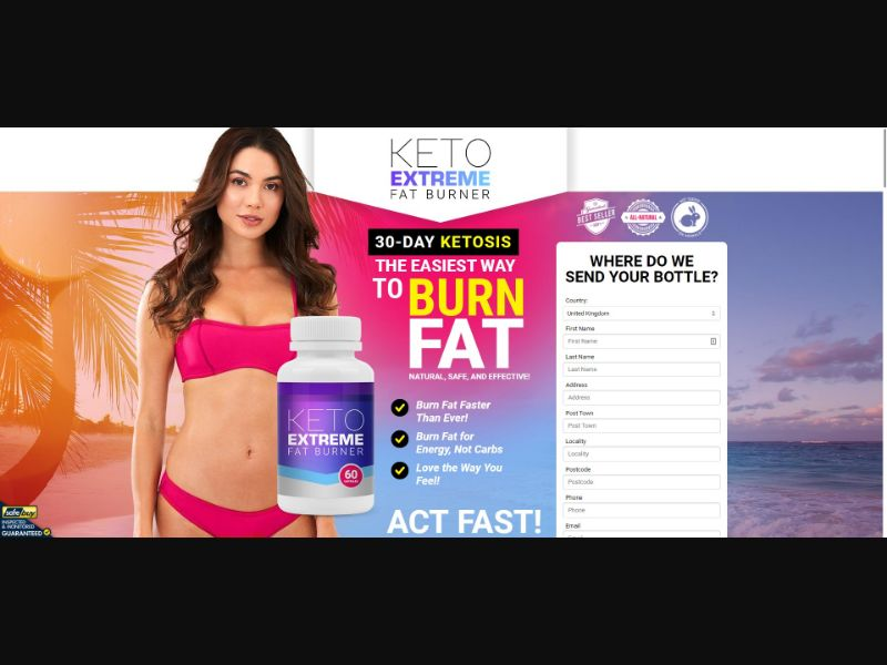 Keto Extreme Fat Burner - Diet & Weight Loss - SS - [18 GEOs]