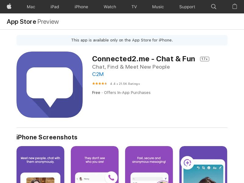 AE - Connected2.me - Chat & Fun - - (SCAPI)