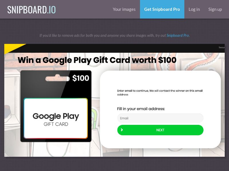 36927 - CA - YouSweeps - Win a Google Play Gift Card - SOI