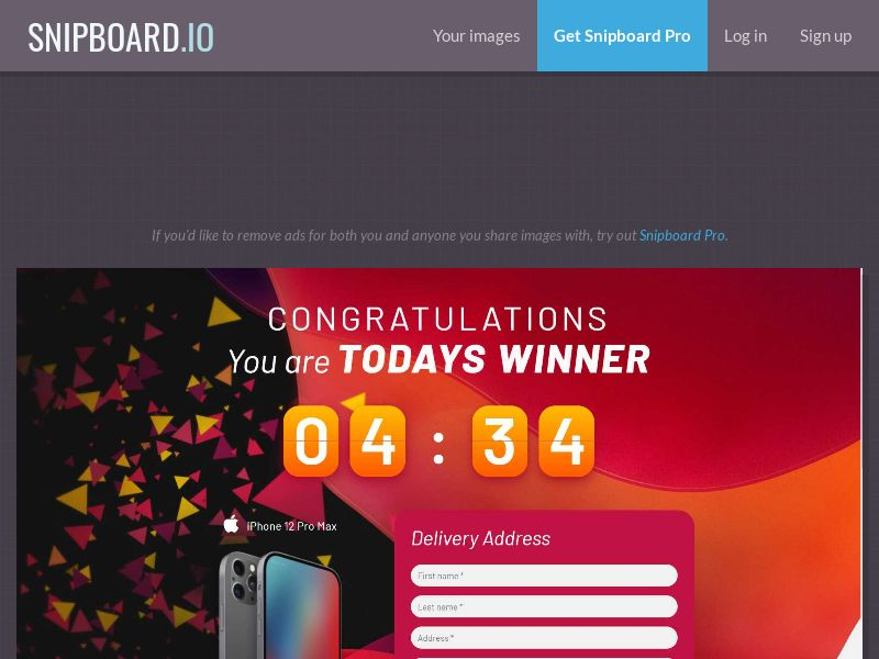 42478 - IT - OrangeViral - B - Win an Iphone 12 - CC submit