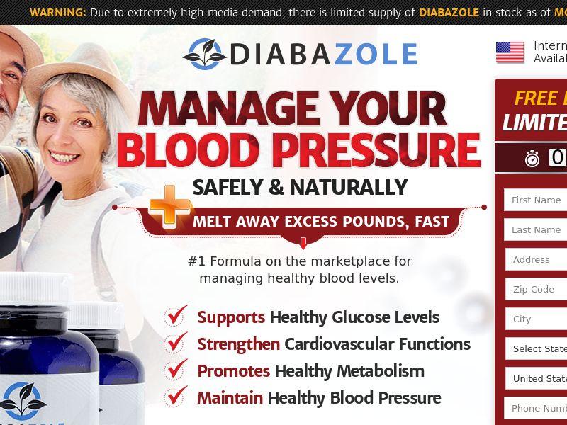 Diabazole Blood Sugar Supplement SS - US