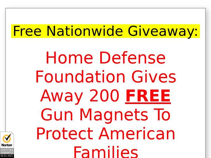Free Gun Magnet [US] (Email,Social,Banner,Native,Push,SEO,Search) - CPA