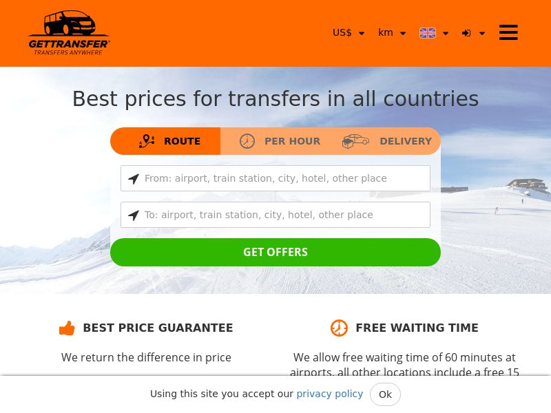 GetTransfer.com WW CPS