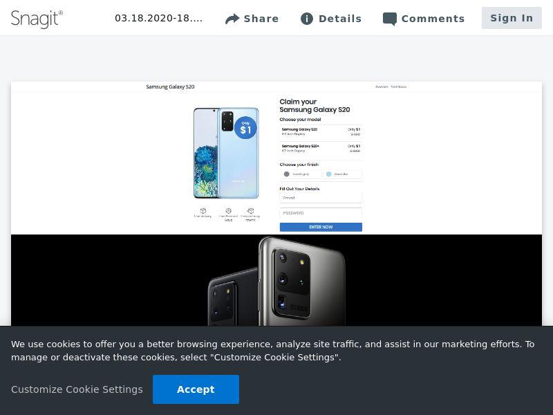 Samsung Galaxy S20 | SE,FI,NO,DK,CH,BE,NL
