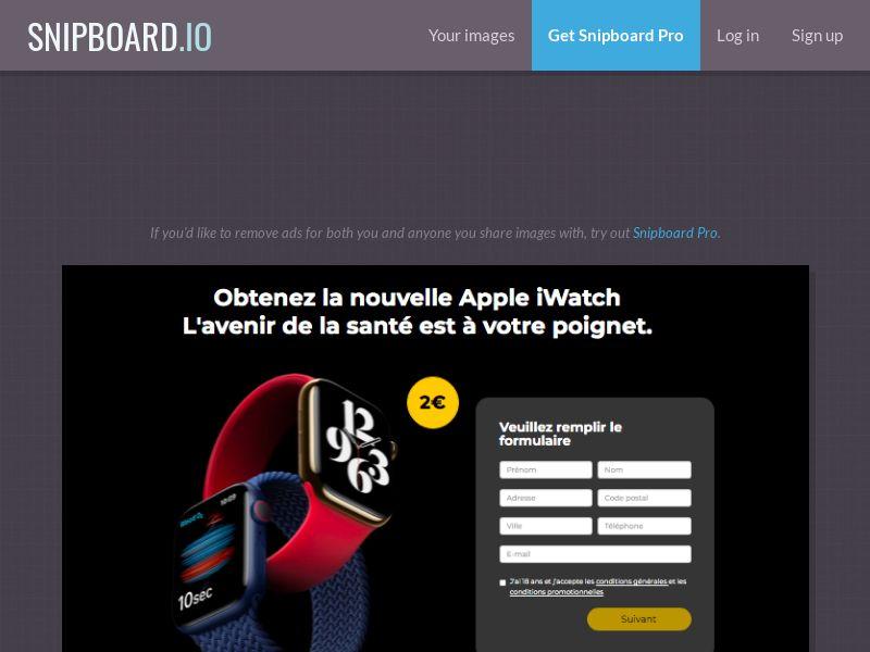 BigEntry - Apple iWatch v1 FR - CC Submit