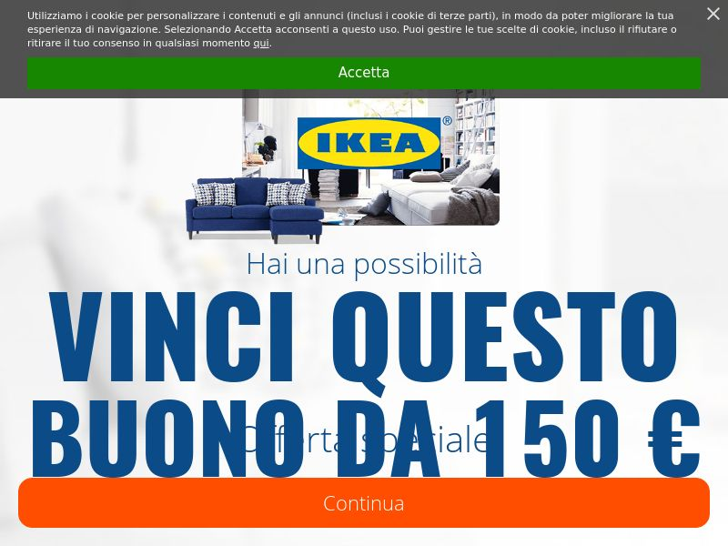 Ikea [IT] (Email,Social,Banner,Native,Push,SEO,Search) - CPL