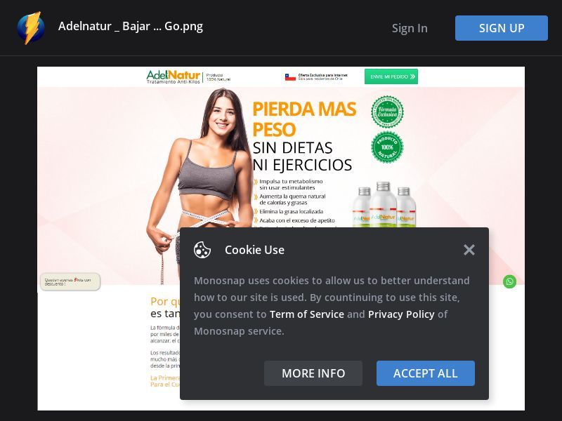 Chile (CL) - AdelNatur - Weight Loss (Responsive)