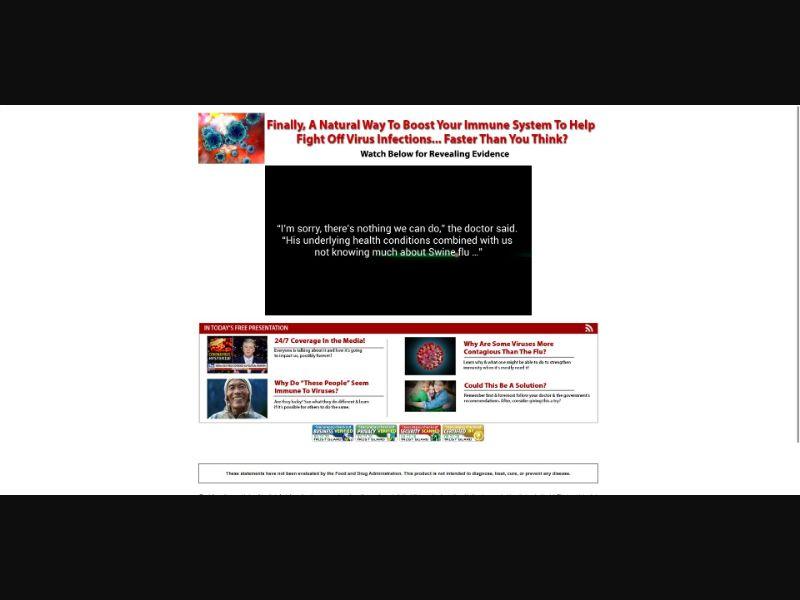 Immunity 911 - VSL - Health - SS - [US, CA, UK, AU, NZ]
