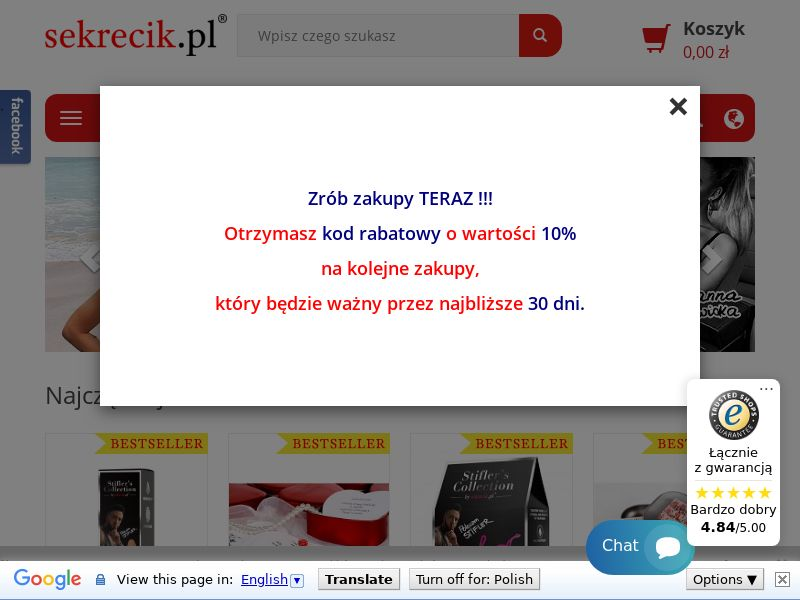 sekrecik.pl (PL), [CPS], For Adult, Content +18, Fashion, Clothes, Accessories and additions, Accessories, Jewelry, Presents, Health and Beauty, Cosmetics, Supplements, Sell, shop, gift, coronavirus, corona, virus, keto, diet, weight, fitness, face mask