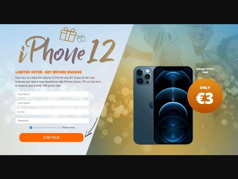 Int. - iPhone 12 [EE,BG] - CC Submit