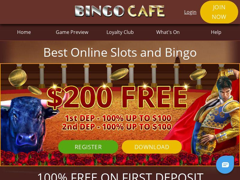 Bingo Cafe - NO (NO), [CPA]
