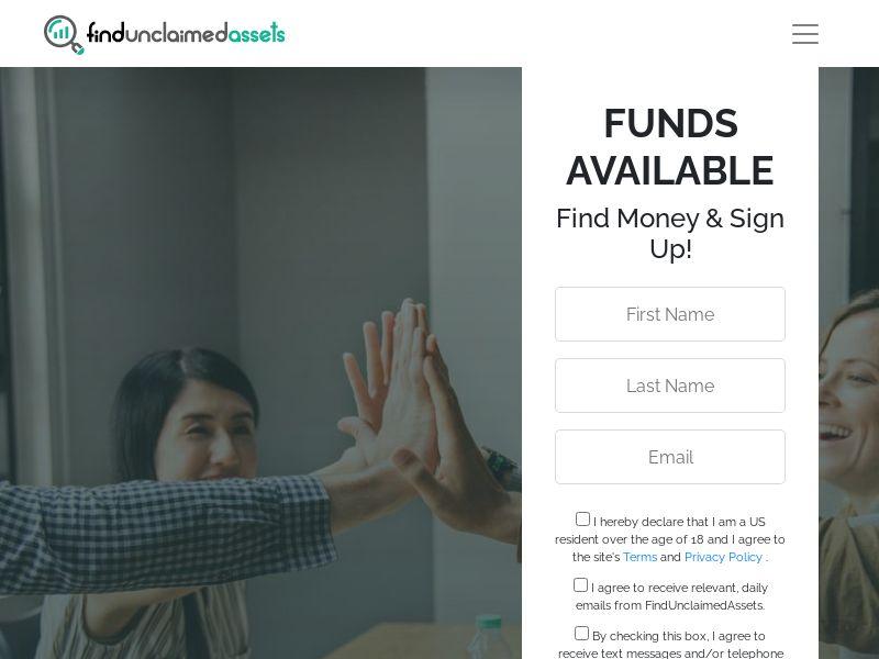 Find Unclaimed Assets