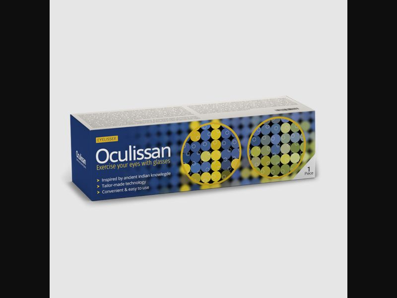 OCULISSAN - eyes - specialized glasses - COD / SS - new creative available – NO – CPA
