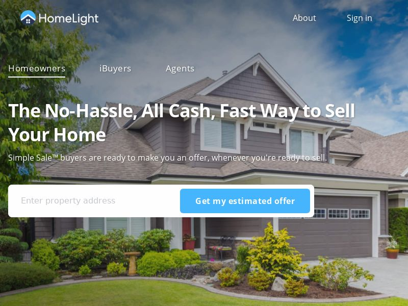 HomeLight - Simple Sale (Native) - CPA