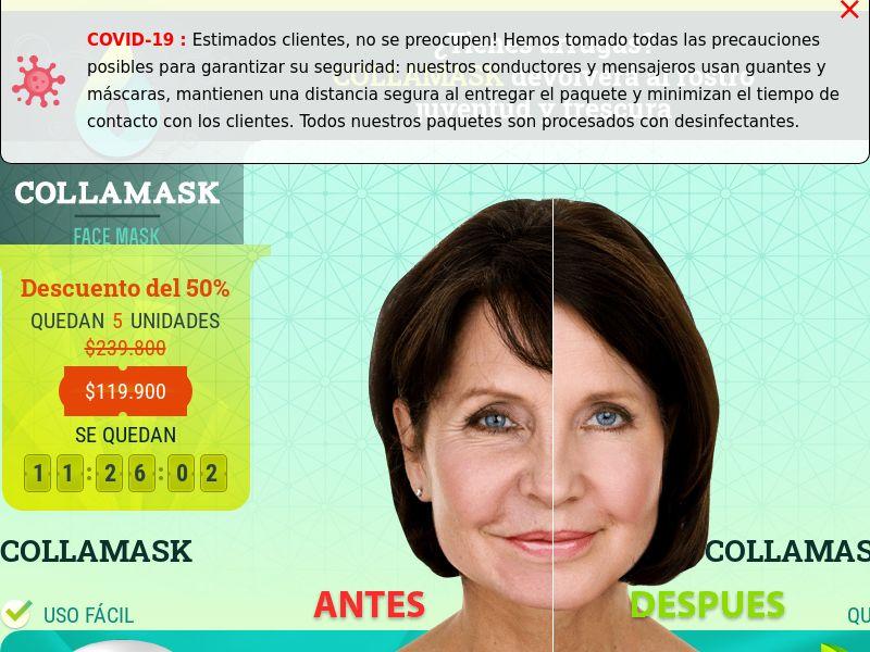 Collamask CO - rejuvenating cream mask