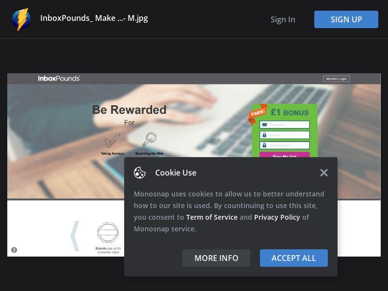 United Kingdom (UK) - InboxPounds Signup Bonus (Responsive)