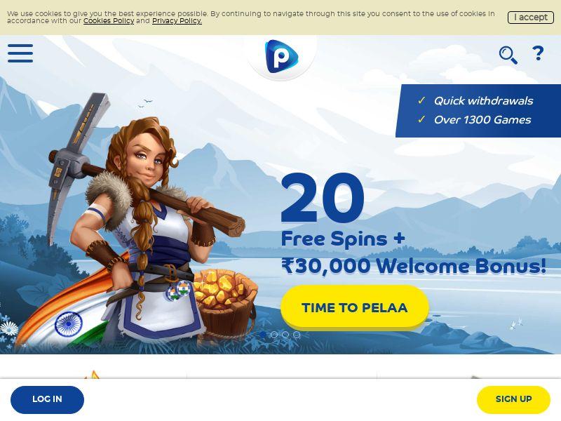 Pelaa.com Casino CPA - India