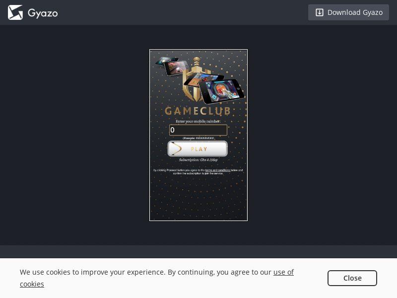 GH - GAMECLUB - Vodafone