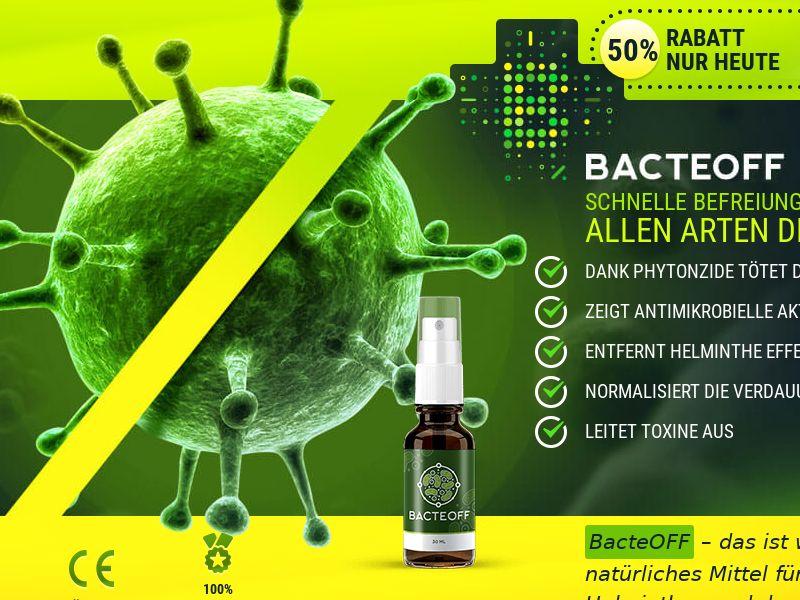 BacteOFF DE - anti-parasite product