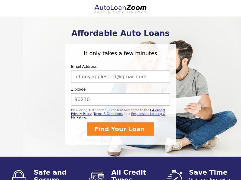 Autoloanzoom.com - Car Loans - CPL - [US]
