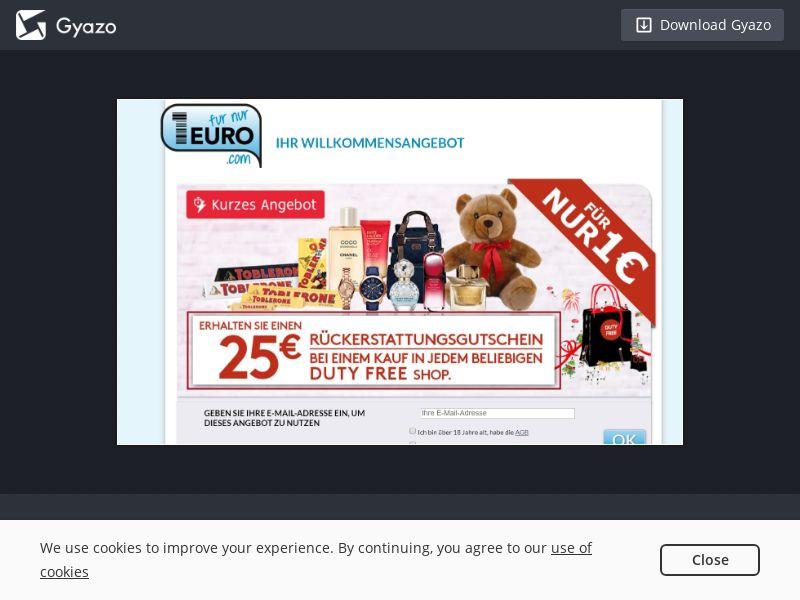 Furnur1euro DutyFree (Cashback) DE   SOI CPL