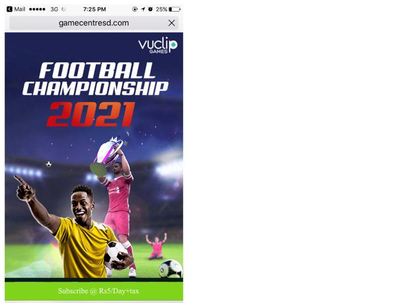 Football Championship Dialog